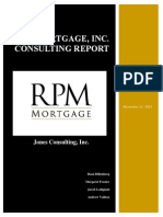 Written Deliverable for RPM