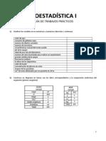 Bioestadística I - Guía de TPs - 2012
