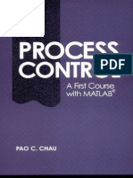Process Control a First Course With MATLAB (Cambridge Series in Chemical Engineering)