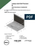 Precision-m6600 Setup Guide Es-mx
