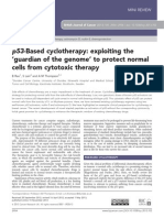 p53 - Based Cyclotherapy