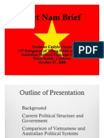 Thayer Vietnam's Political System and Current Issues 2008