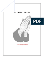 Disciplina -Qué dicen las Escrituras