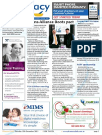 Pharmacy Daily for Thu 12 Dec 2013 - Sigma-Alliance Boots pact, Australians want e-health, Co-payment increase, IMS acquires Pygargus and much more