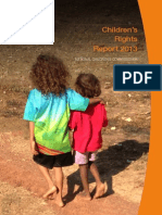 National Children's Commissioner report on child rights