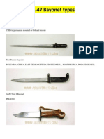 AK-47 Bayonet Types