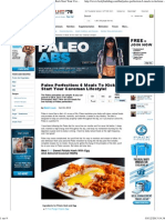 Bodybuilding.com - Paleo Perfection_ 6 Meals to Kick Start Your Caveman Lifestyle!