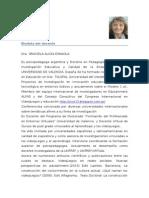 Biodata  Esnaola Graciela
