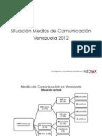 SituacionactualmediosVenezuela2012 Mediax