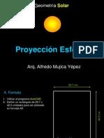 Proyección Esférica
