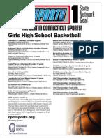 Girls Basketball Flyer