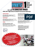 CIAC Football Tournaments Final 120913