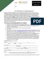 SLICE Application 2014-2015