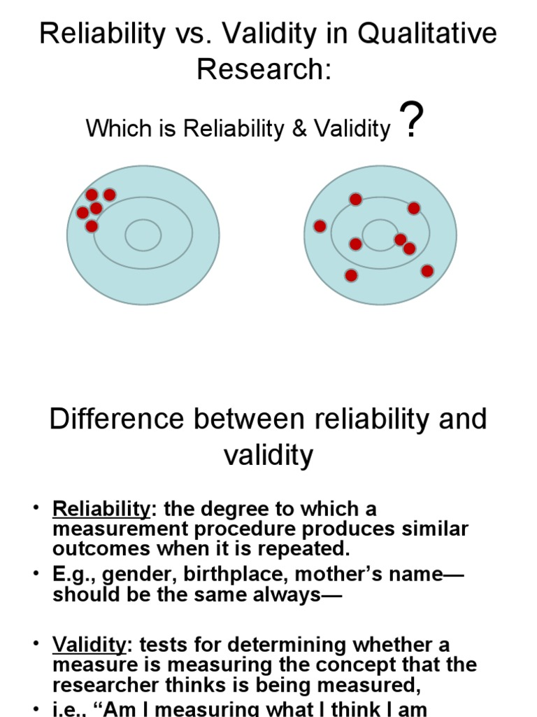 reliablity vs validity Internal consistency reliability is a measure of reliability used to evaluate the degree to which different test items that probe the same construct produce similar results average inter-item correlation is a subtype of internal consistency reliability.