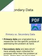 Secondary Datya Chap 7