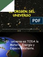 .El Origen Del Universo
