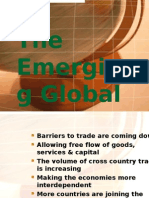 The Emerging Global Economy