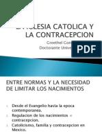 La Iglesia Catolica y La Contracepcion