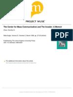Center for Mass Communication-Olson