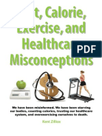 diet calorie healthcare and exercise misconceptions