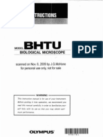 Olympus BH2 BHTU - User Manual