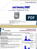 Local Asset Inventory Six Sigma Case Study