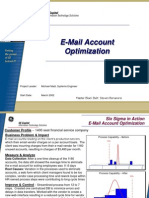 E-Mail Optimization Six Sigma Case Study