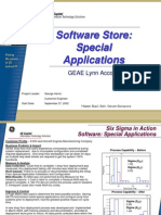 Software Store Six Sigma Case Study