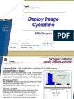 Deploy Image Cycle Time Six Sigma Case Study