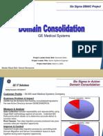 Domain Consolidation Six Sigma Case Study