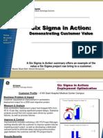 Deployment Output Improvement Six Sigma Case Study