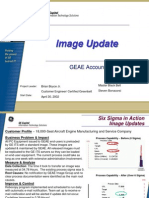 Image Update Six Sigma Case Study