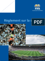 Fifa Safety Regulations Fr