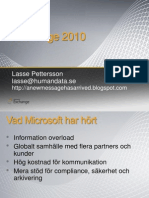 Exchange 2010 Presentation (English, but with Swedish modifications)