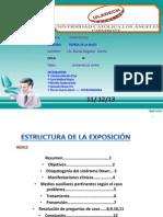 PATOLOGÍA GENERAL I_ENTREGA DE PRODUCTO III_SÍNDROME DE DOWN