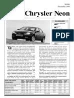 Chrysler Neon Dec99