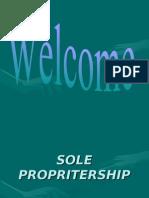 Sole Propritership
