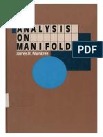 Calculus On Manifolds Pdf