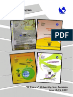 Program WSEAS Iasi 2012