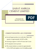 A case study on Ambuja Cement