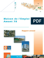 Rapport Annuel MDE Amont 78 Mars 2009