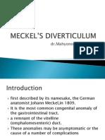 Meckels Diverticulum