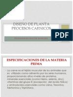DISEÑO DE PLANTA PROCESOS CARNICOS
