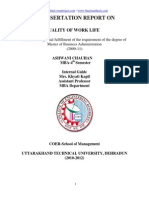 Fyp-Quality of Work Life