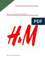H&M strategy