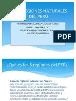 LAS 8 REGIONES NATURALES DEL PERÚ