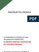 4.- Pancreatitis Cronica