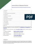 Aplicaciones Financieras de Excel Con Matematicas Financieras