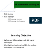 UUM-BWRR3033-Risk Management--CHAPTER 05 Risk Treatment