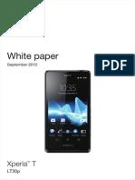 Whitepaper en Lt30p Xperia t